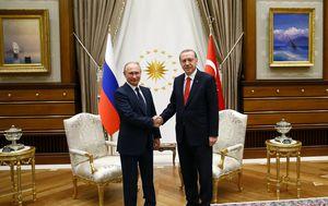 Erdogan i Putin (Foto: AFP)