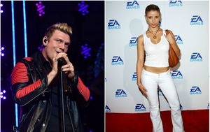 Nick Carter i Melissa Schuman (Foto: Getty)