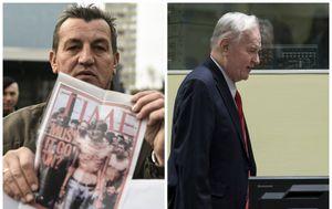 Fikret Alić i Ratko Mladić (Foto: AFP)