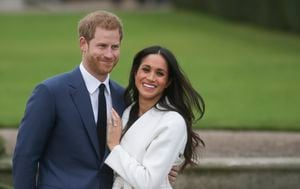 Princ Harry, Meghan Markle (FOTO: AFP) - 2