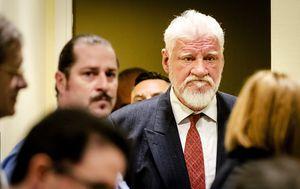 Slobodan Praljak (Foto: AFP)