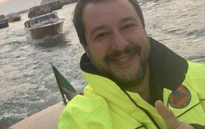 Matteo Salvini pokrenuo je buru reakcija svojim selfiem (Foto: Twitter)