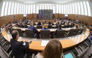 Slovenski parlament (Foto: Jure Makovec / AFP)