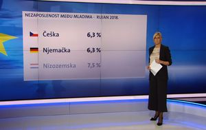 Rezultate eurostata donosi Romina Rončević (Foto: Dnevnik.hr)