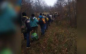 Migranti putuju kroz Liku (Foto: Dnevnik.hr)