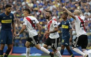 Boca Juniors - River Plate (Foto: AFP)