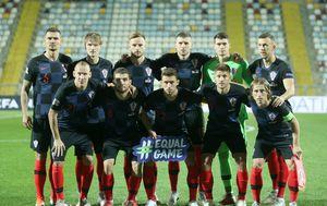 Postava Hrvatske protiv Engleske (Foto: Luka Stanzl/PIXSELL)