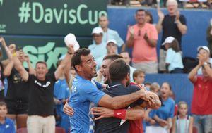 Hrvatska Davis Cup reprezentacija (Foto: Hrvoje Jelavic/PIXSELL)
