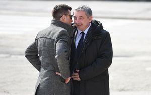 Mario Habek i Predrag Štromar (Foto: Vjeran Zganec Rogulja/PIXSELL)