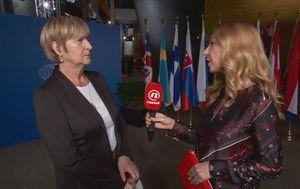 Ruža Tomašić, zastupnica u Europskom parlamentu, i Katarina Alvir (Foto: Dnevnik.hr)