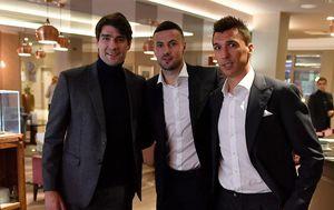 Danijel Subašić, Vedran Ćorluka i Mario Mandžukić (Foto: Instagram)