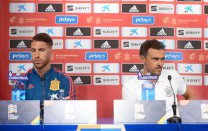 Sergio Ramos i Luis Enrique (Foto: Marko Prpić/PIXSELL)