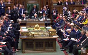 Theresa May u Parlamentu (Foto: HO / PRU / AFP)