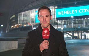 Stipe Sladoljev ispred Wembleyja (Foto: GOL.hr)