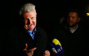 Ivica Todorić pred Kulmerovim dvorima (Foto: Borna Filic/PIXSELL)