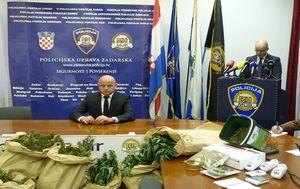 Konferencija za medije PU zadarske (Foto: PU zadarska) - 2