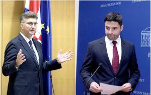 Andrej Plenković i Davor Bernardić (Foto: Arhiva/Patrik Macek/Pixsell)