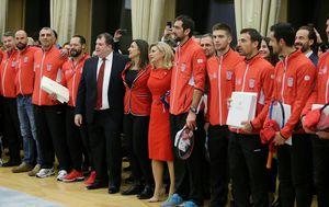 Predsjednica odlikovala Davis Cup reprezentaciju (Foto: Dalibor Urukalović/PIXSELL)
