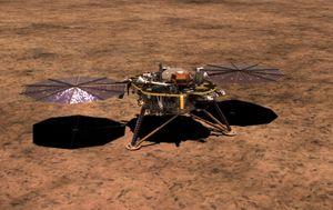 Sonda InSight (Foto: NASA)