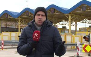 Reporter Dnevnika Nove TV Šime Vičević o stanju u prometu (Foto: Dnevnik.hr)