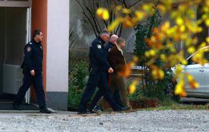 Dovođenje osumnjičenog za ubojstvo u Strugama na sud (Foto: Borna Filic/PIXSELL)