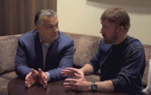 Chuck Norris i Viktor Orban (Foto: Dnevnik.hr) - 1