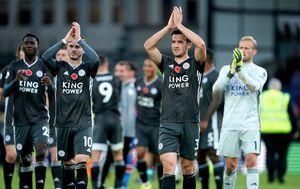Slavlje igrača Leicestera (Foto: Tess Derry/PA Images/PIXSELL)