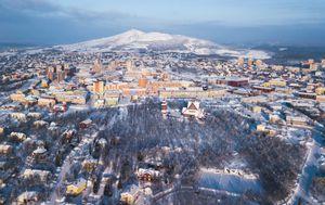 Kiruna, Švedska - 3