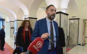 Glavni državni odvjetnik Dražen Jelenić dolazi na sjednicu Odbora za unutarnju politiku i nacionalnu sigurnost (Foto: Dnevnik.hr)