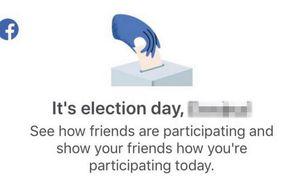 Facebook podsjetio BiH građane da se u njihovoj zemlji danas održavaju izbori (Screenshot: Facebook)