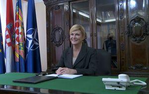 Predsjednica otvorila ured u Slavonskom Brodu (Foto: Dnevnik.hr)