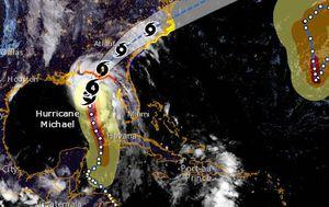Uragan Michael (Foto: NOAA)