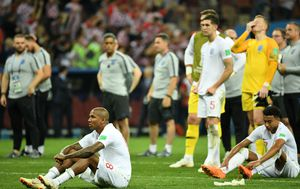 Engleski reprezentativci (Foto: AFP)