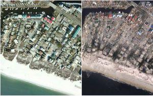 Mexico Beach, Florida (Foto: NOAA)