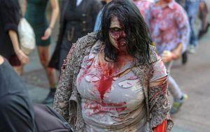 Zombie walk (Foto: Matija Habljak/PIXSELL)