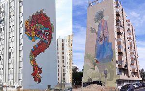 Grafiti u Lisabonu (Foto: boredpanda.com)