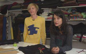 Nataša Mihaljčišin i Martina Vrdoljak Ranilović, modne dizajnerice (Foto: Dnevnik.hr)