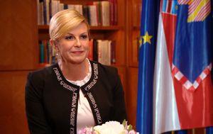 Predsjednica Kolinda Grabar Kitarović za Dnevnik Nove TV (Video: Dnevnik.hr) - 1