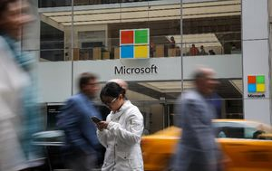 Microsoft (Foto: AFP)
