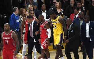 Chris Paul i LeBron James (Foto: AFP)