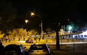 Neredi u Splitu (Foto: Dalmatinski portal)