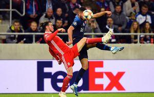 Slovačka - Wales (Foto: AFP)