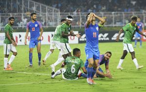 Indija - Bangladeš (Foto: AFP)