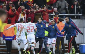 Slavlje Španjolske (Foto: AFP)