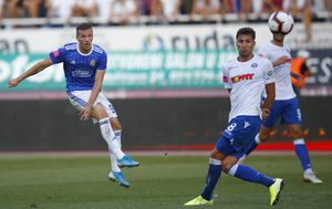 Hajduk - Dinamo (Foto: Milan Sabic/PIXSELL)
