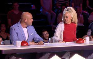 Zbor Supertalent, Maja Šuput i Davor Bilman (Foto: Screenshot Nova TV)