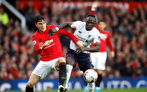 Daniel James i Sadio Mane (Foto: Martin Rickett/Press Association/PIXSELL)