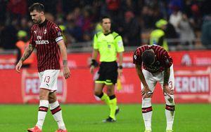 Tuga Milana nakon Leccea (Foto: AFP)
