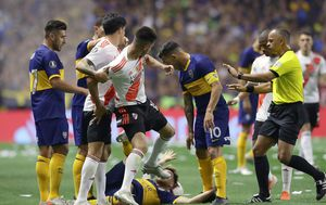 River Plate - Boca Juniors (Foto: AFP)