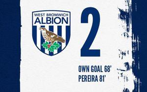 WBA kiksao protiv Barnsleyja (Foto: West Bromwich Albion Facebook)